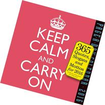 2016 Keep Calm and Carry On Page-A-Day Calendar