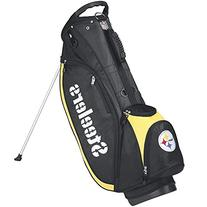 Wilson NFL Pittsburgh Steelers Carry Golf Bag, Black/Gold,