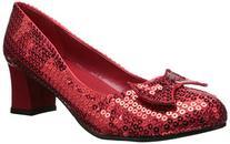 Ellie Shoes Women's 203-Judy Dress Sandal, Red, 8 M US