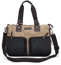 Gootium 20319F Canvas Messenger Bag,Perfect Fit Laptop Bags