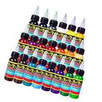 Solong Tattoo® 21 Basic Colors Tattoo Ink Set Pigment Kit