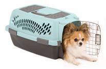 Aspen Pet Pet Porter Plastic Kennel, Up to 10 Pounds, Blue