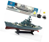 "23"" Ht Radio Control Rc Battle Warship Boat Cruiser"