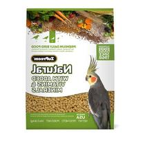 Zupreem 230353 Natural Medium Bird Food, 2.5-Pound