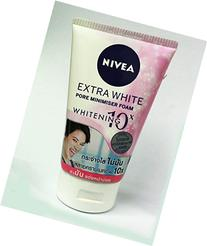 24 X NIVEA EXTRA WHITE Pore Minimiser Foam Whitening 10x