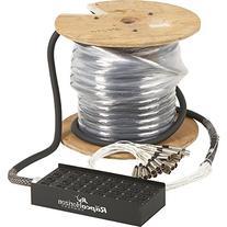 Livewire 24X8 XLR Fan-Box Snake 125 ft