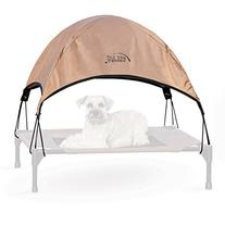 K&H Manufacturing Pet Cot Canopy Medium Tan 25-Inch by 32-