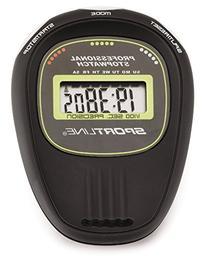 Sportline 250 Grip Timer Stopwatch With No-Slip Grip Finish
