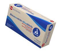 Dynarex 2512 Nitrile Exam Glove  Powder Free Medium 10/100/
