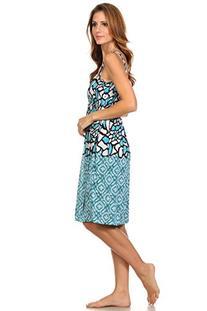 2626 Sun Dress Multi Colors Stretch Knee High Tank Top Women