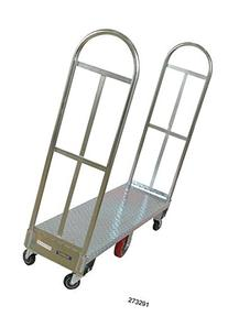 Wesco 273292 Galvanized Steel U-Boat Truck with Removable
