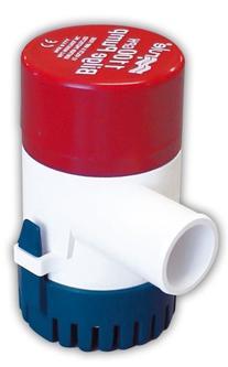 Rule 27D 1100 GPH Marine Bilge Pump, Non-Automatic,
