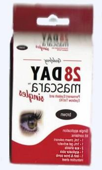 Godefroy 28 Day Mascara - Brown Single Application