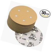 Mirka 23-614-280 Bulldog Gold 5-Inch 5-Hole 280 Grit Grip