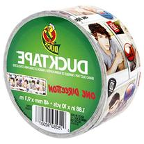 Duck Brand 281972 One Direction Printed Duct Tape, 1.88