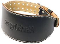 Harbinger Padded Leather Contoured Weightlifting Belt with