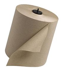 Tork 290088 Universal Single-Ply Hand Roll Towel, Natural,