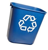 Rubbermaid Commercial 295573BE Blue 13.625-Quart Small