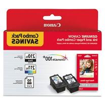 Canon 2973B004 Combo Pack Saving with PG-210XL Black CL-