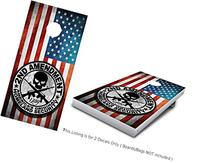 "2nd Second Amendment Wrap set Color! 2x Decals 24"" x 48"""