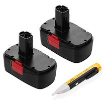 Powerextra 2 Pack 3.0Ah 19.2V Craftsman Replacement Battery