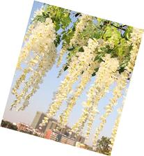 3.4 Ft Realistic Romantic Classic Artificial Fake Wisteria