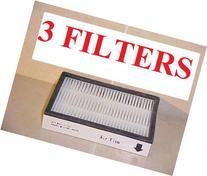 3-pack. 86880 HEPA FILTERS For Sears KENMORE Vacuums .