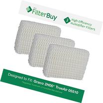 3 - Graco 1.5 Gallon Humidifier Filters. Designed by