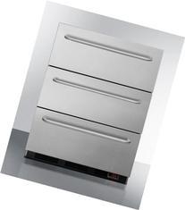 3 drawer, manual defrost, under counter drawer freezer
