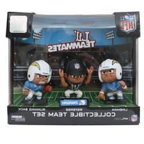 Lil' Teammates 3 Figurine San Diego Chargers NFL Team Set
