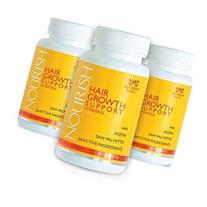 3 Pac- NOURISH Advanced Hair Loss Vitamins- 3 Month Supply-