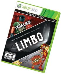 3 pack - LIMBO, Trials HD, Splosion Man - Xbox 360