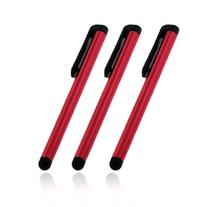 3 packs of Red Stylus Pen for Ipad 1st 2nd Gen,Motorola Xoom