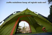 Ohuhu 3 Person Tent with Carry Bag, UV-proof Beach Tent