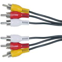 CableWholesale's RCA Audio / Video Cable, 3 RCA Male, 25