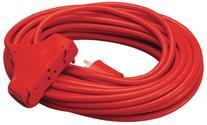 Coleman Cable 04218 14/3 SJTW Vinyl Outdoor Extension Cord,