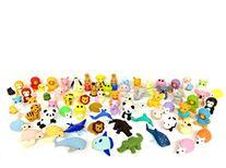Iwako 30 Assorted Eraser, Animal Collection