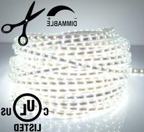 LEDJump Bright Pure White Dimmable Linkable 300SMD LED Tape