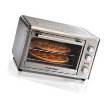 Hamilton Beach 31103A Electric Oven - Countertop - Metallic