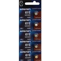 319 Watch battery - Strip of 5 Batteries