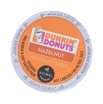 32 Count - Dunkin Donuts Hazelnut Flavored Coffee K-Cups For