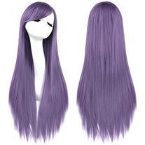 Rbenxia 32'' Women's Cosplay Wig Hair Wig Long Straight