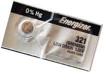 Energizer 321 SR616SW Silver Oxide 1 Pack of 5 batteries