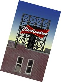 33-8815 N & Z scale Budweiser billboard by Miller Signs