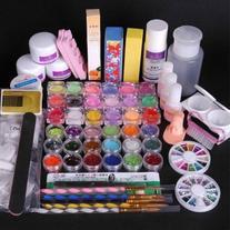 350buy 36 Acrylic Powder Liquid KITS Primer UV NAIL ART TIP
