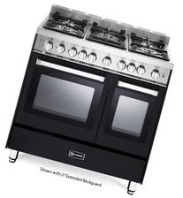 "36"" - Gas Double Oven Range - 2 Convection Ovens, Stainless"