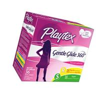 Playtex Gentle Glide 360 Plastic Tampons Multi-Pack Fresh