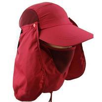 Urparcel Outdoor 360 UV protection Sun block hat Folding