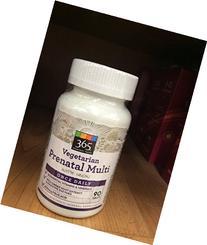 365 Everyday Value Vegetarian Prenatal Multi with Iron - 90