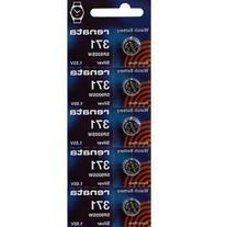 371 Watch battery - Strip of 5 Batteries